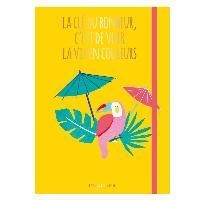 Loisirs Creatifs - Beaux Arts - Papeterie 2 Cahiers Cle du Bonheur