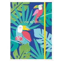 Loisirs Creatifs - Beaux Arts - Papeterie 2 Cahiers La vie est belle