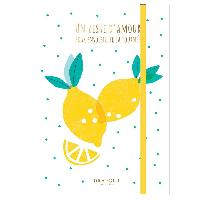 Loisirs Creatifs - Beaux Arts - Papeterie 2 Cahiers Zeste amour