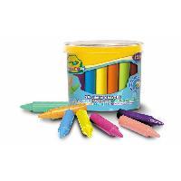 Loisirs Creatifs - Beaux Arts - Papeterie CRAYOLA 24 maxi crayons a la cire