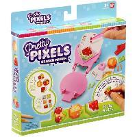 Loisirs Creatifs - Beaux Arts - Papeterie PRETTY PIXELS - Fabrique a gommes - Set de démarrage - Theme fruits