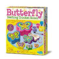 Loisirs Creatifs Et Activites Manuelles 4M CREA Boîte a bijoux - Papillon