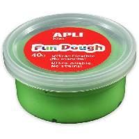 Loisirs Creatifs Et Activites Manuelles APLI Pâte a modeler Fun Dough - 40 g - Vert clair