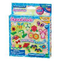 Loisirs Creatifs Et Activites Manuelles AQUABEADS 31088 - Coffret Fleurs