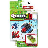 Loisirs Creatifs Et Activites Manuelles ASMOKIDS- RECHARGE VAISSEAUX SPATIAUX- QIXELS 3D