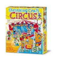 Loisirs Creatifs Et Activites Manuelles CREA Kit plastique - Fou cirque