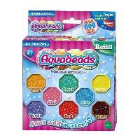 Loisirs Creatifs Et Activites Manuelles EPOCH D'ENFANCE Aquabeads perles multifacettes