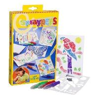 Loisirs Creatifs Et Activites Manuelles Spraypens Kit Creatif - Marqueurs A Souffler