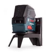 Longueur (telemetre - Laser Mesureur) BOSCH Laser combine points et lignes GCL2-15 avec support RM1