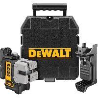 Longueur (telemetre - Laser Mesureur) DEWALT Laser multi-lignes DW089K - Livré avec support et coffret de transport
