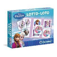Loto - Bingo CLEMENTONI Jeu de Loto - La Reine des Neiges - Jeu educatif