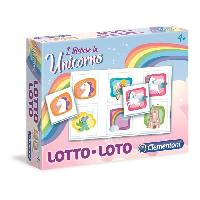 Loto - Bingo CLEMENTONI Jeu de Loto - Licornes - Jeu educatif