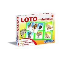 Loto - Bingo CLEMENTONI Jeu de Loto - Nos Amis Les Animaux - Jeu éducatif