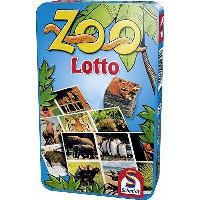 Loto - Bingo SCHMIDT AND SPIELE Jeu de poche - Zoo Lotto