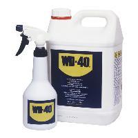 Lubrifiant Degrippant WD-40 Lubrifiant Degrippant Multispray 5L jerrycan plus aerosol