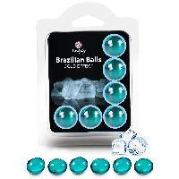 Lubrifiants Boules Bresiliennes Effet Glace X6