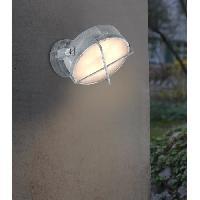Luminaire D'exterieur Applique exterieure NYX Béton gris Led intégrée 10 W - Brilliant