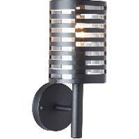 Luminaire D'exterieur Applique exterieure VENLO noire ampoule E27 max 40W - Brilliant