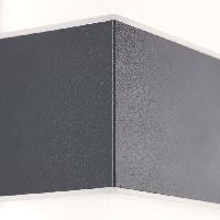 Luminaire D'exterieur Applique exterieure avec detecteur ARCHIE Anthracite Led intégrée 7W - Brilliant