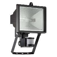 Luminaire D'exterieur Applique exterieure avec detecteur TANKO Noir ampoule R7s max 400 W - Brilliant