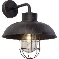 Luminaire D'exterieur Applique exterieure descendante PORTLAND Rouille ampoule E27 max 60 W - Brilliant