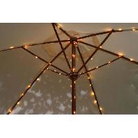Luminaire D'exterieur BLACHERE ILLUMINATION Rideau solaire micro LED Parasol