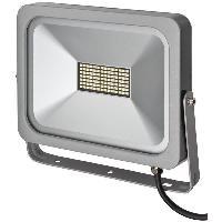 Luminaire D'exterieur BRENNENSTUHL Projecteur slim SMD-LED H05RN-F 3G1.0 - 50 W - IP54
