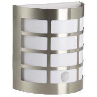 Luminaire D'exterieur BRILLIANT Applique extérieure avec détecteur Rune 60W - Acier
