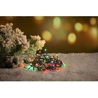 Luminaire D'exterieur CHRISTMAS DREAM Guirlande 300 micro-LED multicolore - L 30 m - 31 V - 8 jeux de lumiere - Contrôleur de mémoire