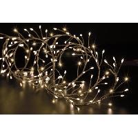 Luminaire D'exterieur FEERIC LIGHTS & CHRISTMAS BOA extérieur Copper - 400 LED - Fil transparent - 5m
