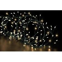 Luminaire D'exterieur FEERIC LIGHTS & CHRISTMAS BOA extérieur Copper - 400 LED - Fil vert - 5m