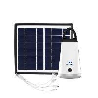 Luminaire D'exterieur GALIX Kit d'éclairage a énergie solaire - Lampe H 15.5 x Ø 70 mm