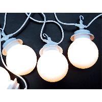 Luminaire D'exterieur Guirlande lumineuse Led sur secteur 16.5m