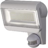 Luminaire D'exterieur Projecteur Led Premium City SH 8005 IP44 avec PIR - Blanc