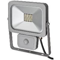 Luminaire D'exterieur Projecteur slim SMD-LED H05RN-F 3G1.0 - 30 W - IP54 - PIR