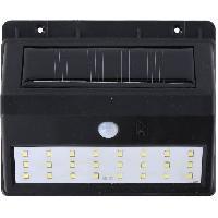 Luminaire D'exterieur Spot mural LED solaire - 24 LED SMD