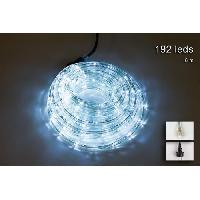 Luminaire D'exterieur Tube lumineux exterieur - 192 LED blanc froid - 8 m - Connectable - 24 flashs crepitant Christmas Dream