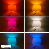 Luminaire D'interieur INNR Ampoule connectée  E14 - ZigBee 3.0  -  Pack de 2 ampoules Multicolor + Blanc réglable - 2200K a 6500K Intensité réglable.