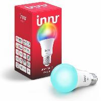 Luminaire D'interieur INNR Ampoule connectée  E27 - ZigBee 3.0 Multicolor + Blanc réglable - 2200K a 6500K Intensité réglable.