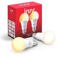 Luminaire D'interieur INNR Ampoule connectée E27 2200 - 5000K tunable white (2-pack) - ZigBee 3.0