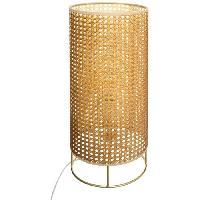 Luminaire D'interieur Lampe cannage Amel - H.52 cm