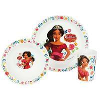 Lunch Box - Boite A Repas Fun House Disney elena d'avalor ensemble repas comprenant 1 assiette. 1 verre et 1 bol pour enfant