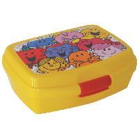 Lunch Box - Boite A Repas Fun House monsieur madame boite gouter pour enfant