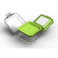 Lunch Box - Boite A Repas KARIS Boite a sandwich fraicheur Contain this AB.2.39 - Vert