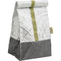 Lunch Box - Boite A Repas Sac lunch classique Fuel en plastique et tissu - Blanc