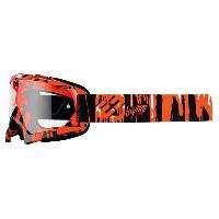 Lunettes De Conduite - Masque Lunette Cross Kid Slim - Enfant - Neon orange