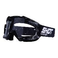Lunettes De Conduite - Masque SHOT Lunette Cross Assault Bandana - Homme - Noir et blanc - Shot Race Gear