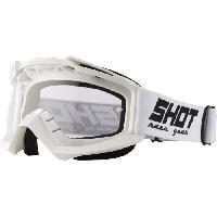 Lunettes De Conduite - Masque SHOT Lunettes Assault Blanc - Shot Race Gear