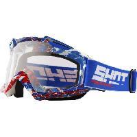 Lunettes De Conduite - Masque SHOT Lunettes Assault Mist Bleu Rouge - Shot Race Gear