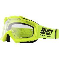 Lunettes De Conduite - Masque SHOT Lunettes Assault Neon Jaune - Shot Race Gear